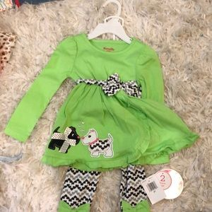 Nannette 2 piece set size 2T